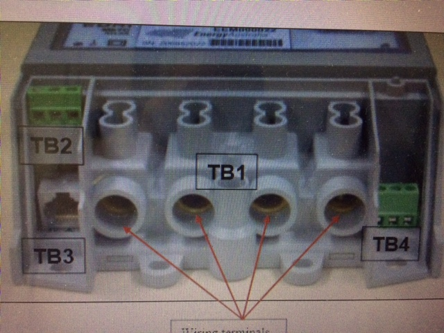i need a wiring diagram of a single phase meter incorporating graphic