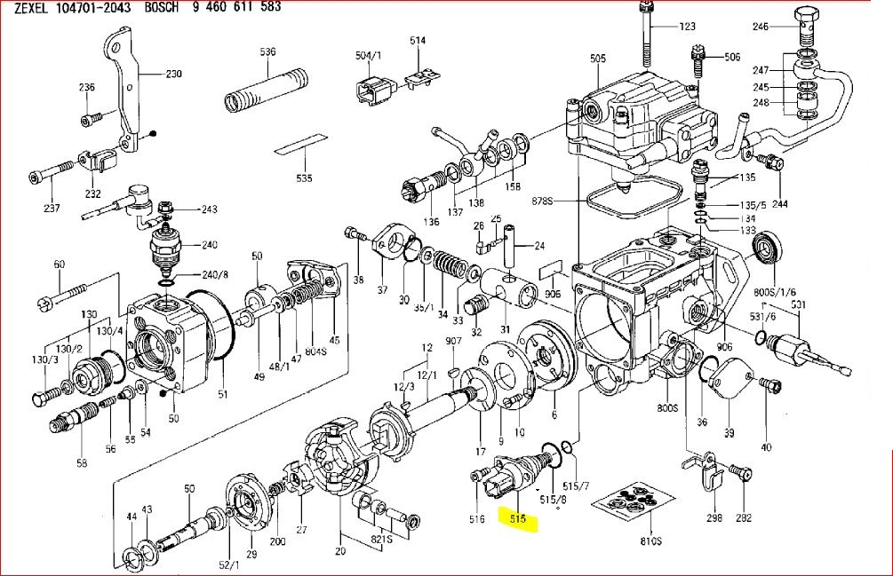 4 107 perkins diesel parts