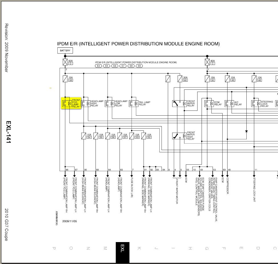 infiniti g37 sedan wiring diagram  infiniti  free engine