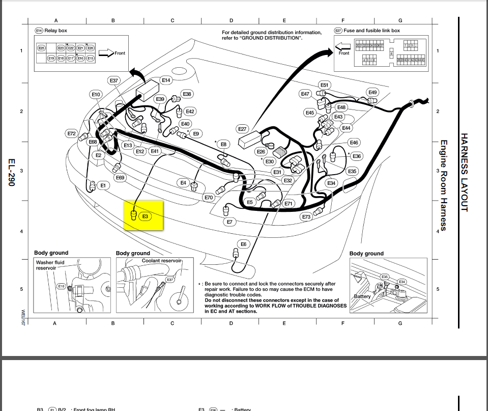 Nissan Maxima Power Steering Sensor Location on 1997 nissan sentra fuse box diagram