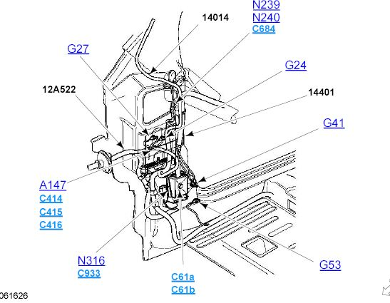 2001 ford explorer pcv valve location diagram  2001  free