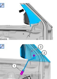 wish to remove both front door panels to fit electric wing graphic