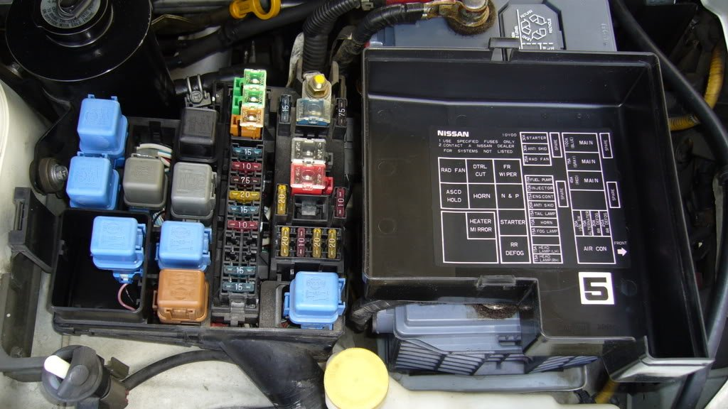 Fuses Relays Diagram on 2004 Infiniti G35 Radio Fuse