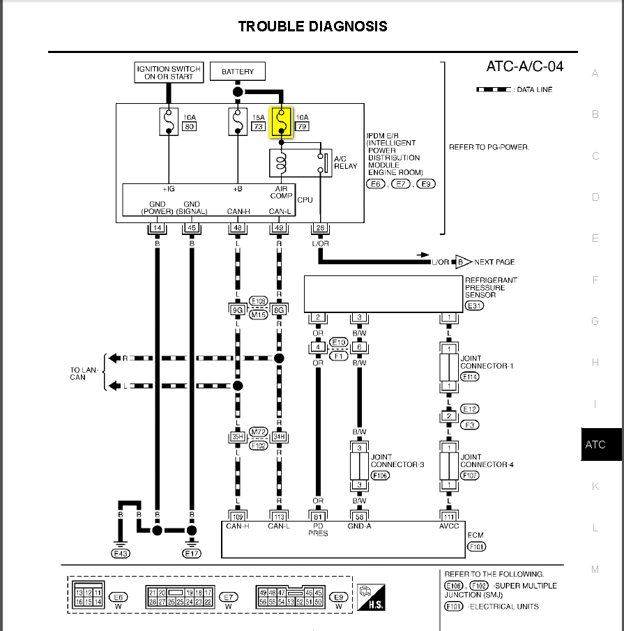 2005 infiniti g35 ignition wiring diagram infiniti g35 ac wiring diagram #11