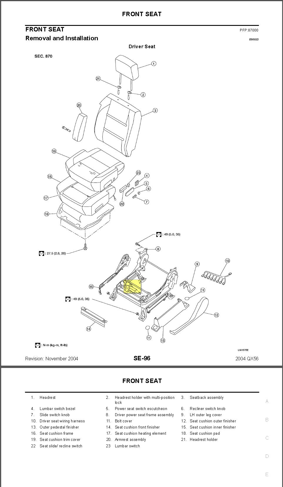 I have a 2006 Infiniti QX56. I got in my vehicle the other ... Infiniti Qx Wiring Diagram on infiniti parts, infiniti accessories, infiniti transfer case, infiniti g20 repair manual, infiniti fuses,