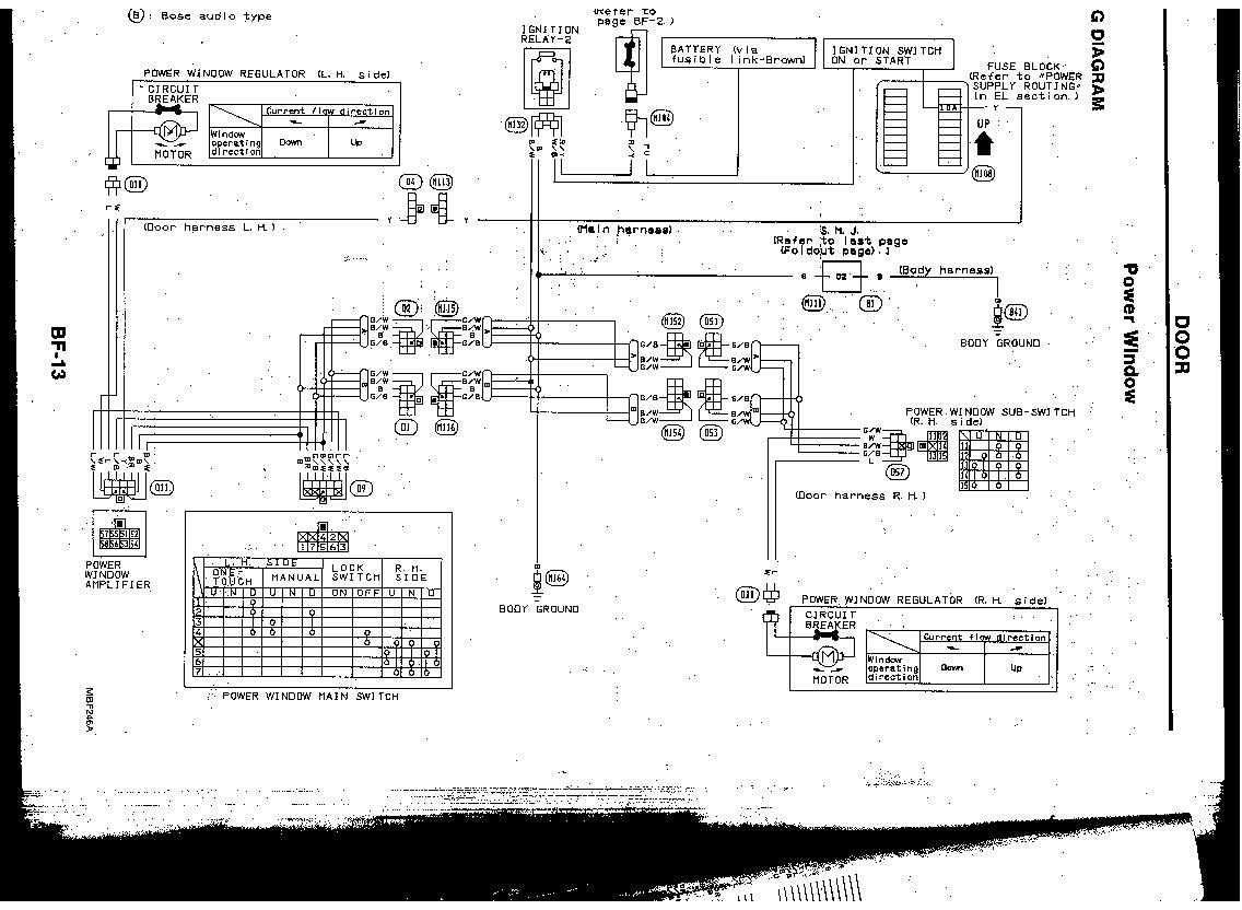 Infiniti M30 Wiring Diagram Layout Diagrams Fuse Box Infinity How To Replace Drivers Door Window Motor 92 Conv Rh Justanswer Com Mr158403 2004 Qx56 Radio