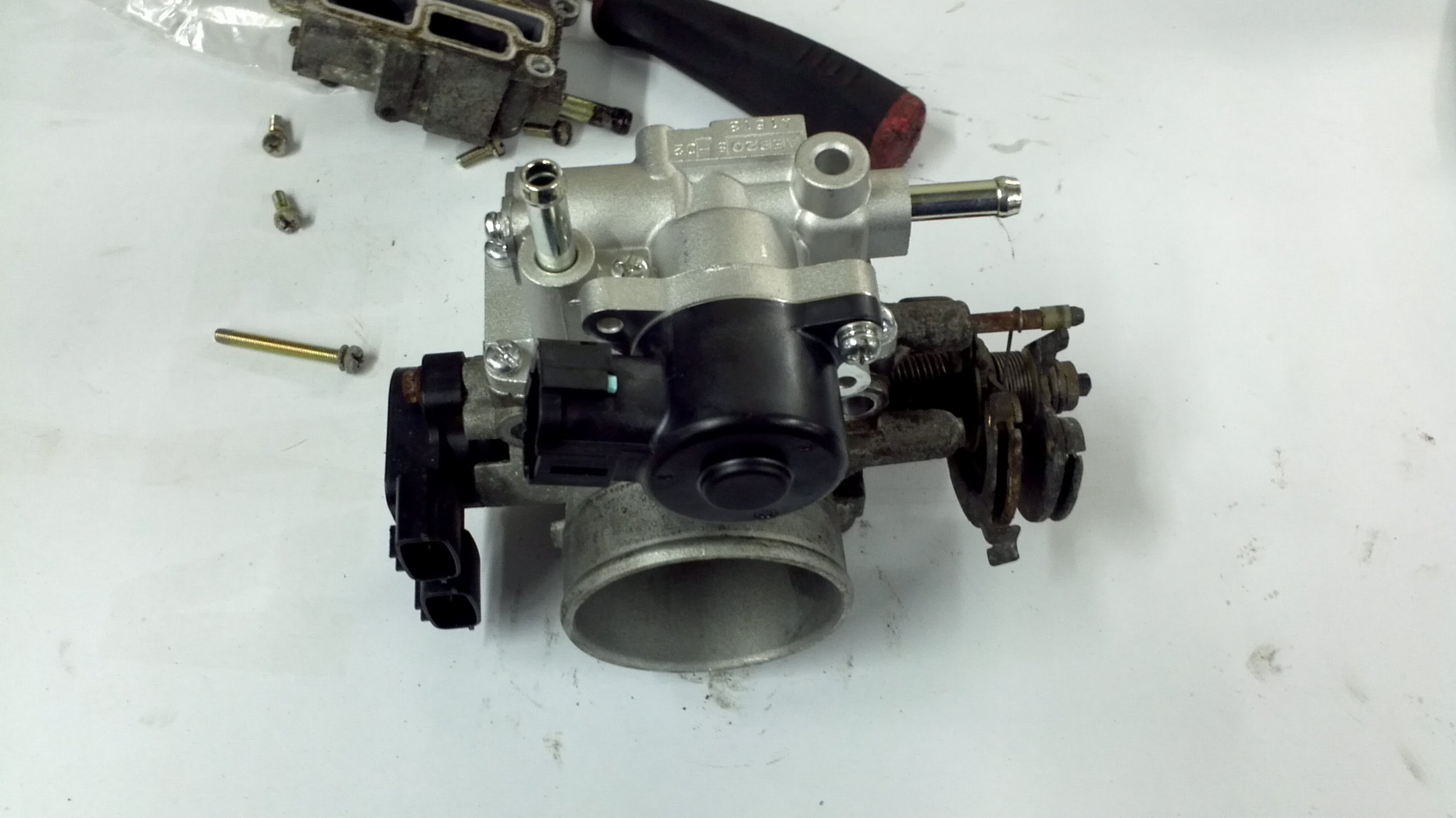 2002 Infiniti QX4  Symptoms started on a red light where