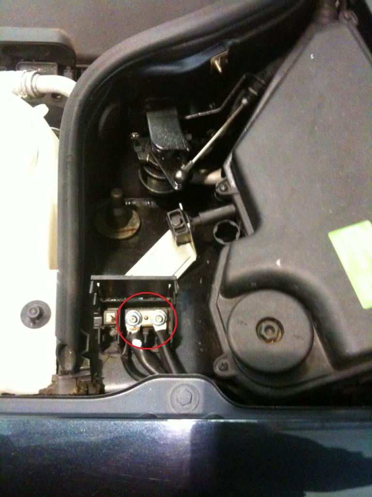 i am unable to open the boot on my mecedes clk230 as the battery W Battery Wiring Diagram on