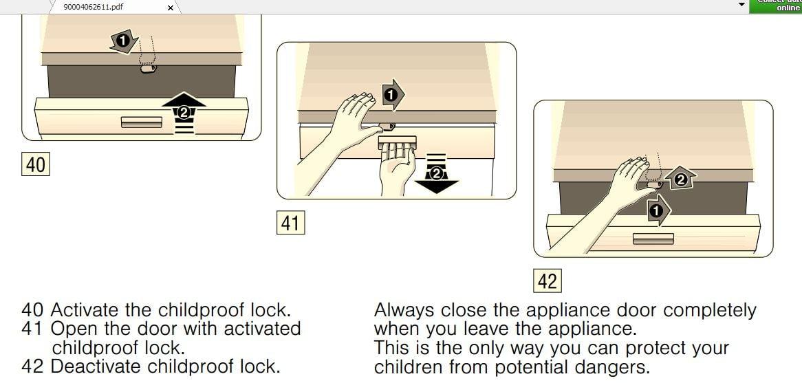 How Do I Deactivate Child Lock On Neff Dishwasher
