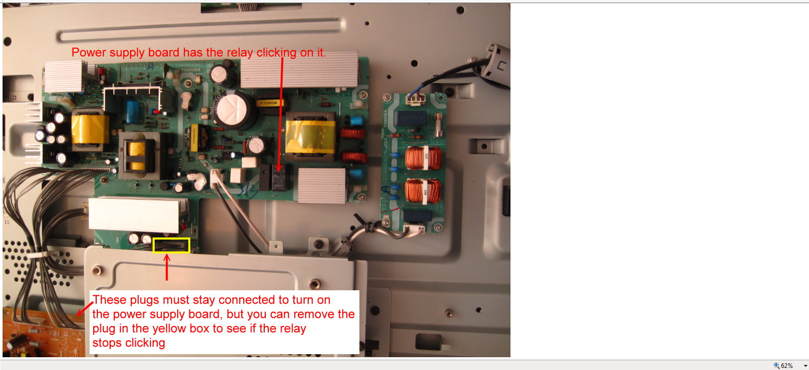 Electrical Relay Clicking Just Another Wiring Diagram Blog Toshiba Power Connector I Have A 42wlt66 Hd Telly Well Out Of Warranty When Rh Justanswer Co Uk Symbols