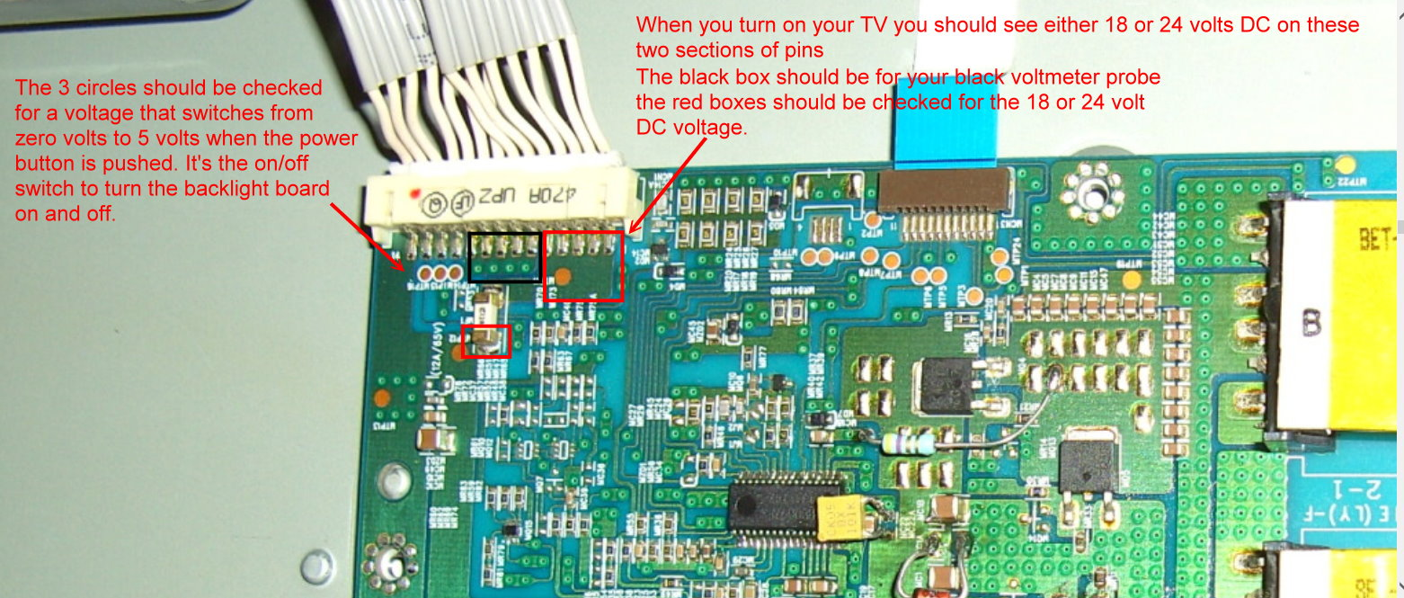 Philips Tv Model 42pfl7662012 We Have Sound But No Pictur
